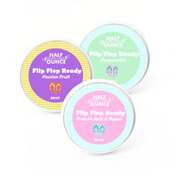 Flip Flop Ready Foot Protect & Repair Balm - Natural, Organic and Vegan Friendly