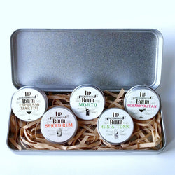 Alcohol Inspired Lip Balm Set of 5