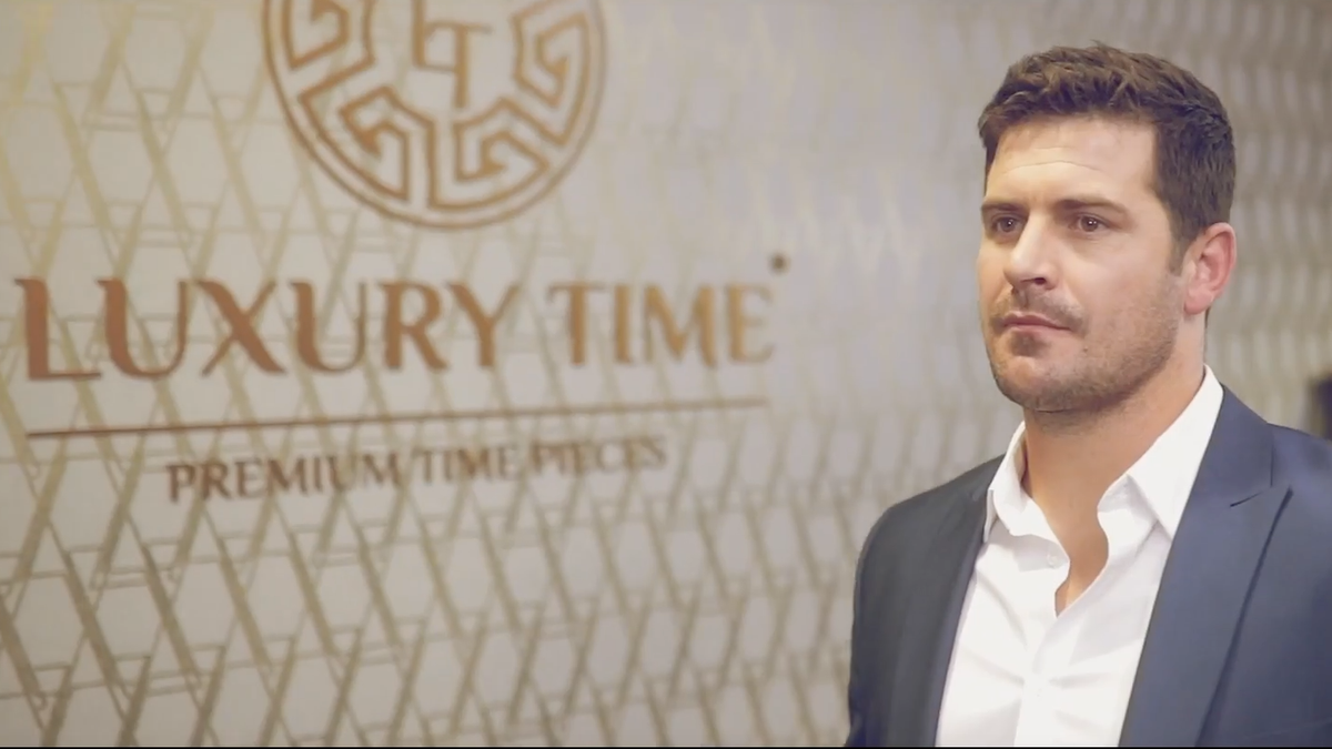 Luxury Time Advert ft Morné Steyn