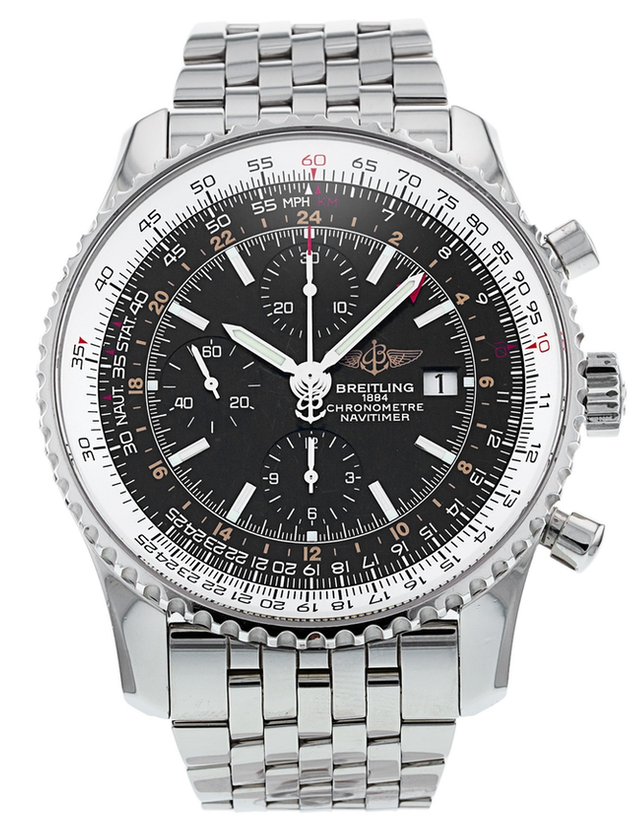 Breitling Navitimer World Men's Watch.