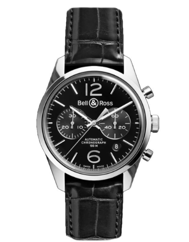 Bell & Ross BR 126 Vintage Mens Watch