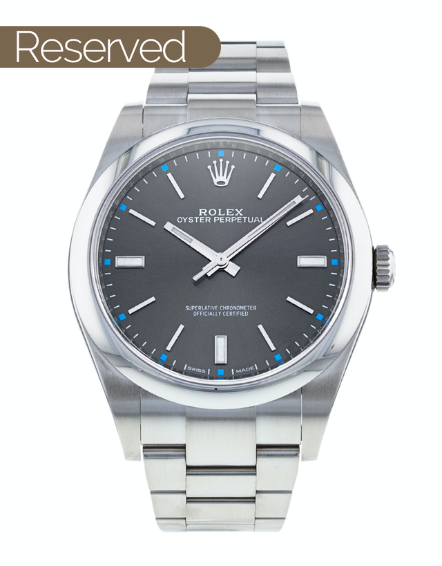 Rolex Oyster Perpetual 39mm Mens Watch