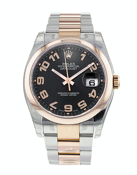 Rolex Datejust 36 Rose Gold & Stainless Steel Men's Watch