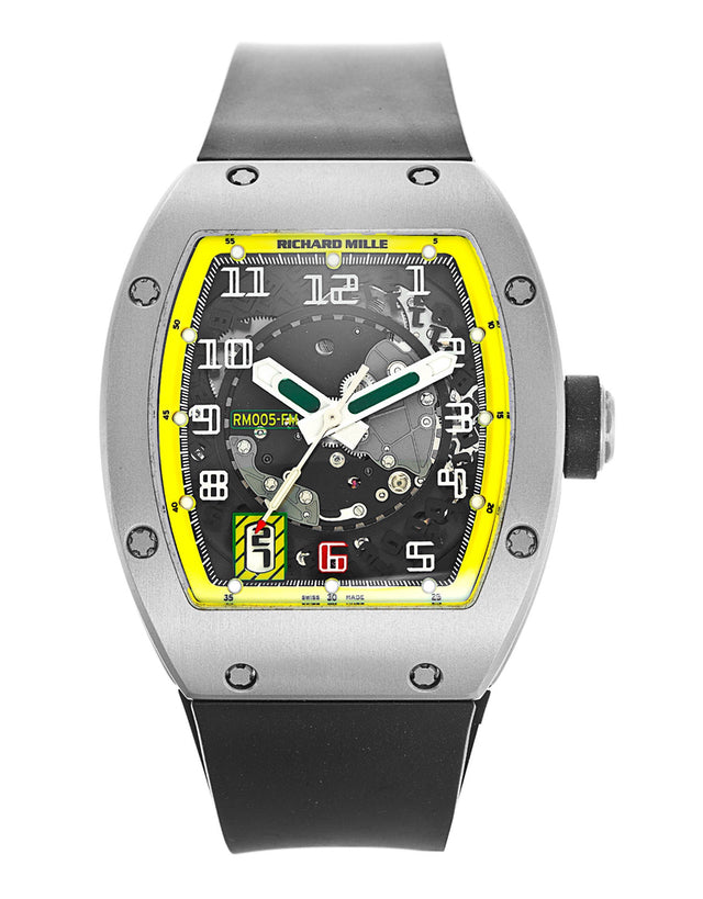 Richard Mille RM005 AG TI FELIPE MASSA Men's Watch