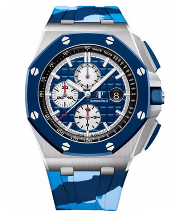 Audemars Piguet Royal Oak Offshore Automatic Blue Dial Men's Watch