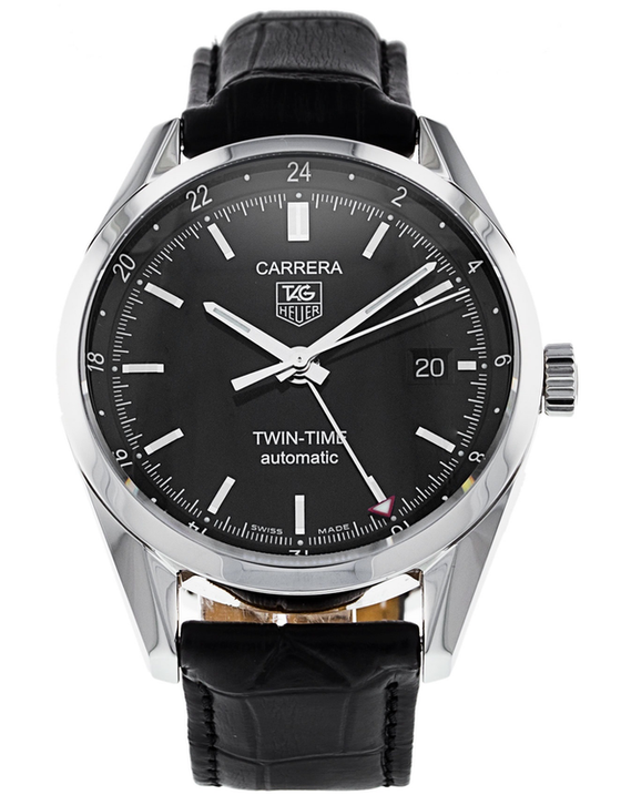 Tag Heuer Carrera Twin Time Mens Watch
