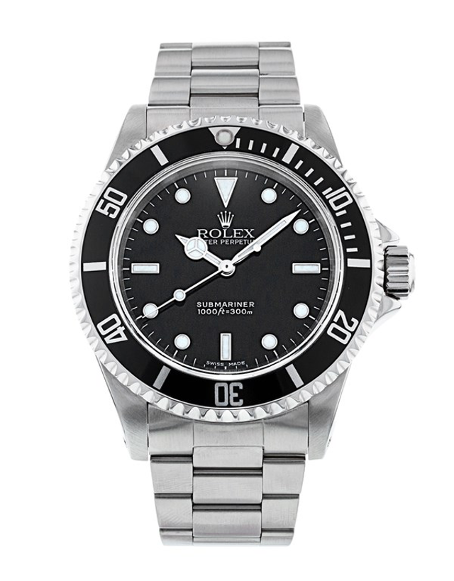 Rolex Submariner No Date Men's Watch