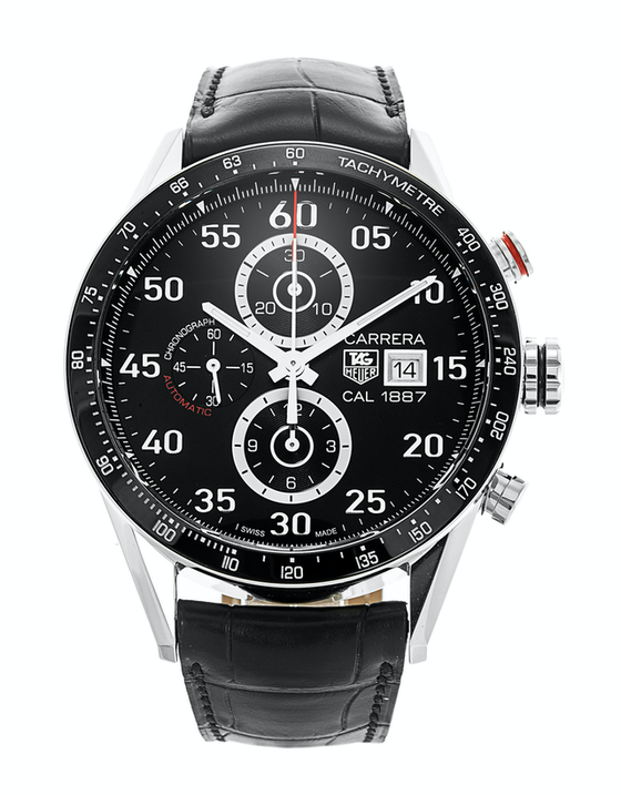 Tag Heuer Carrera Calibre 1887 Automatic Chronograph 43mm Mens Watch
