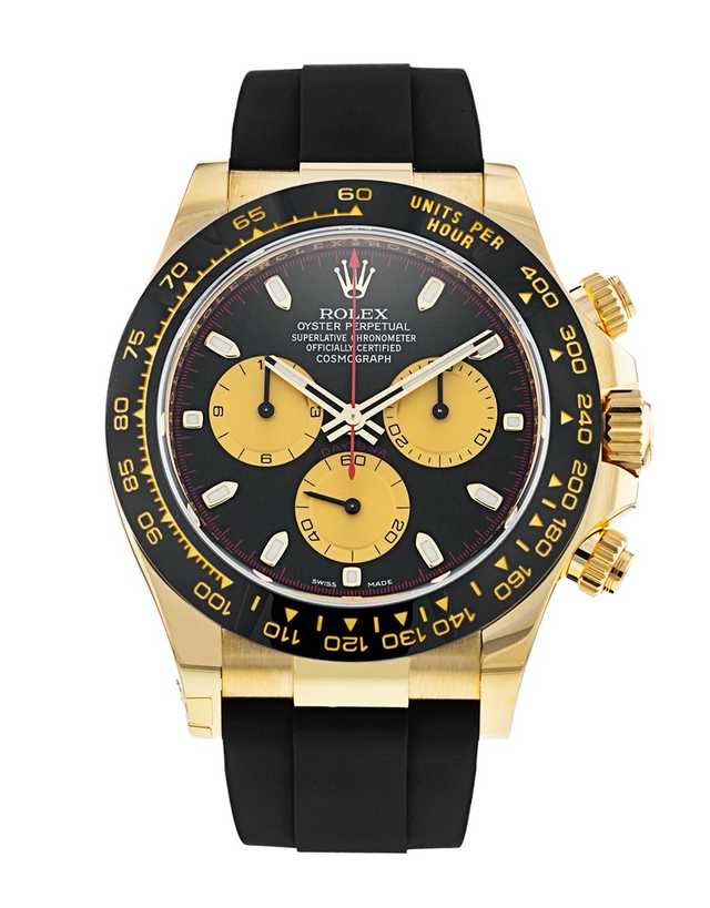 Rolex Oyster Perpetual Cosmograph Daytona Yellow Gold Men's Watch