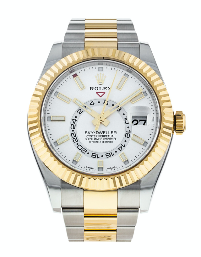 Rolex Sky-Dweller White Dial Men's Watch