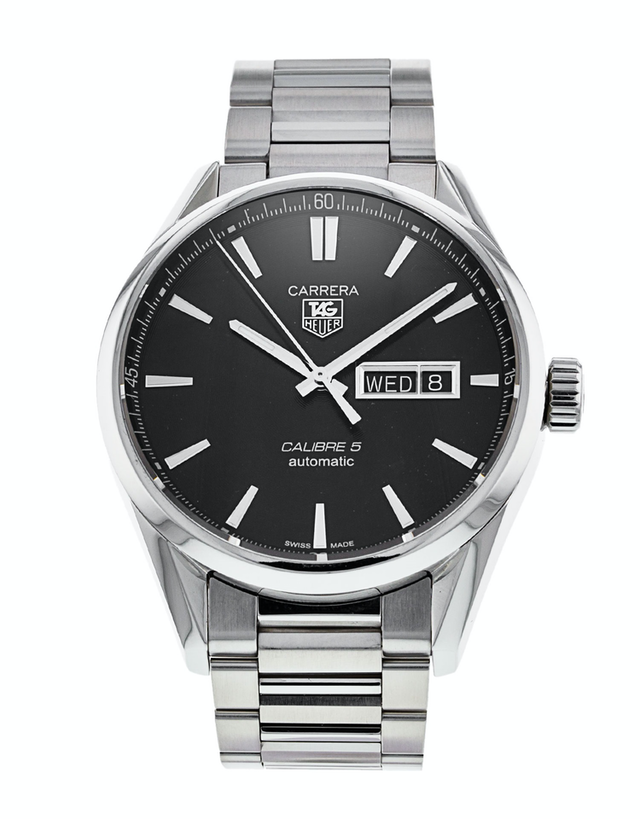 Tag Heuer Carrera Automatic Black Dial Men's Watch