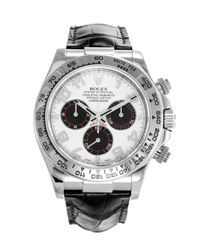 Rolex Daytona White Gold Men's Watch