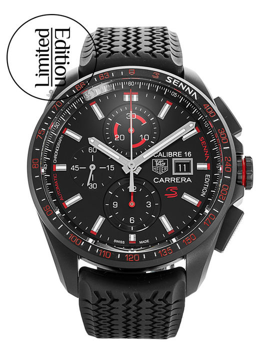 Tag Heuer Carrera Senna Limited Edition Men's Watch