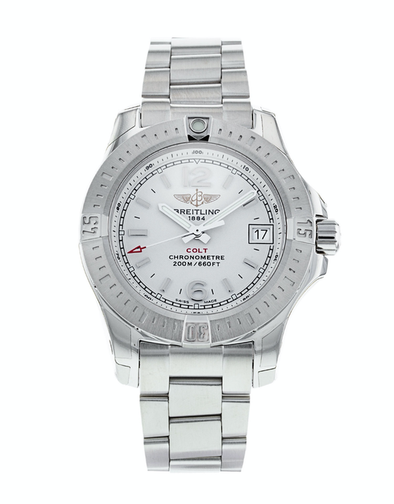 Breitling Colt Lady Silver Dial Ladies Watch