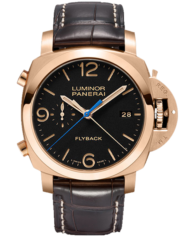 Panerai Luminor 1950 3 Days Chrono Flyback Oro Rosso Men's Automatic Watch