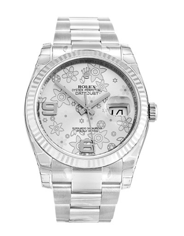 Rolex Datejust Stainless Steel Men's Watch