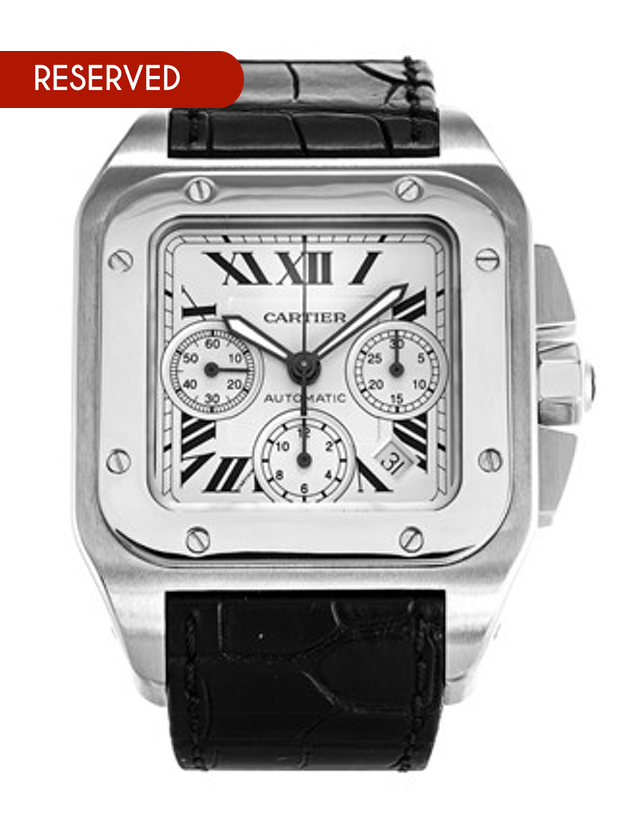 Cartier Santos Chronograph Men's Watch