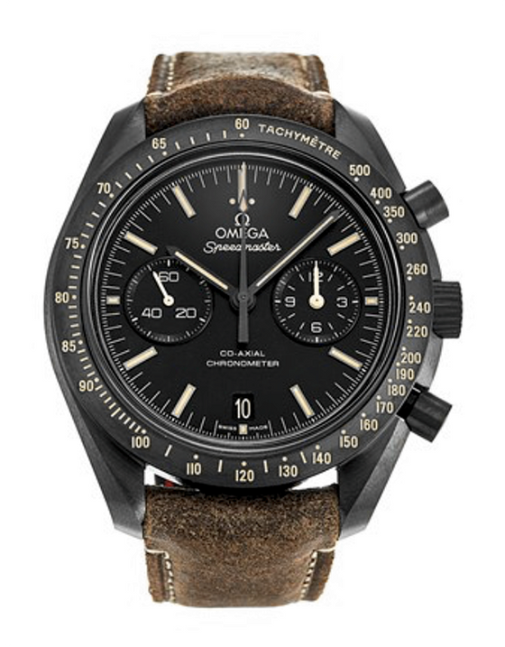 Omega Speedmaster Moonwatch Co-Axial Chronograph Dark Side of The Moon Edition Men's Watch