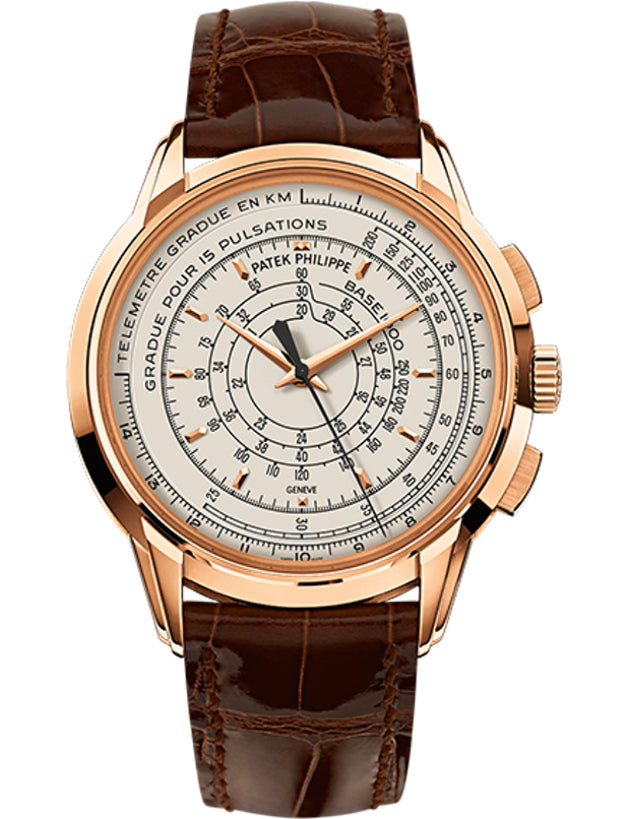 Patek Philippe Anniversary Series 18k Rose Gold Silvery White Automatic Men's Watch