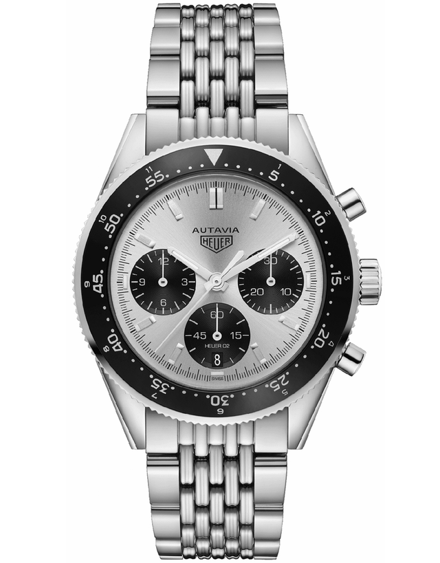 Tag Heuer Heritage Autavia Jack Heuer Limited Edition Silver Dial Men's Watch