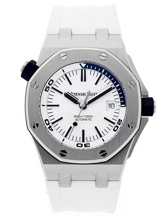 Audemars Piguet Royal Oak Offshore Stainless Steel White Automatic