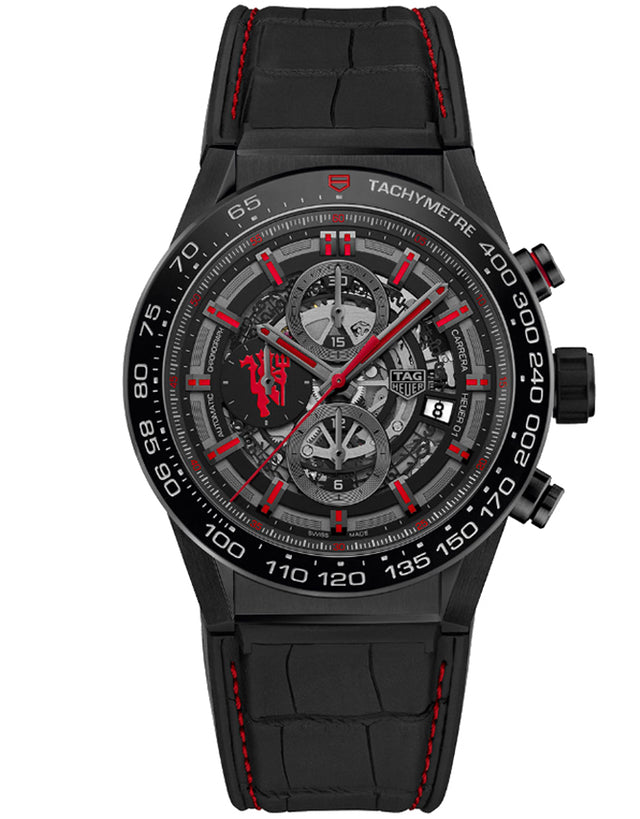 Tag Heuer Carrera Automatic Chronograph Manchester United Men's Watch