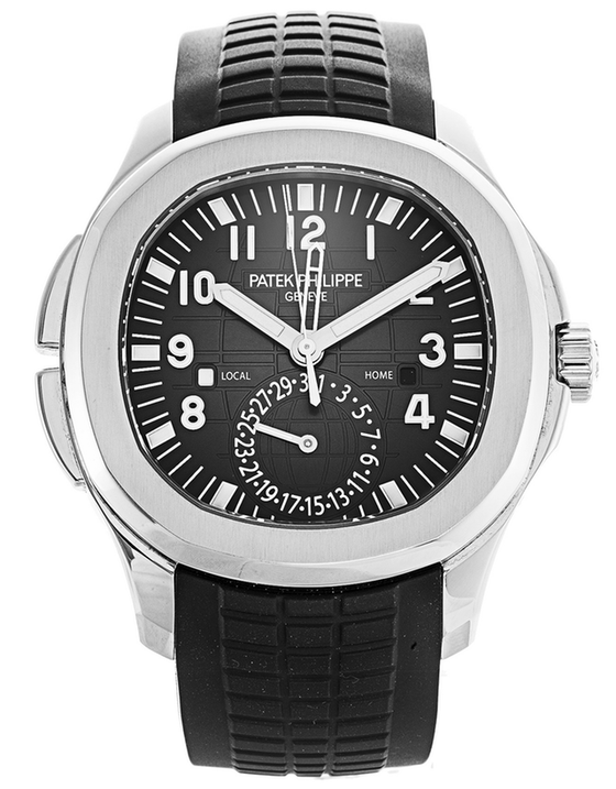 Patek Philippe Aquanaut Black Dial Automatic Men's Watch