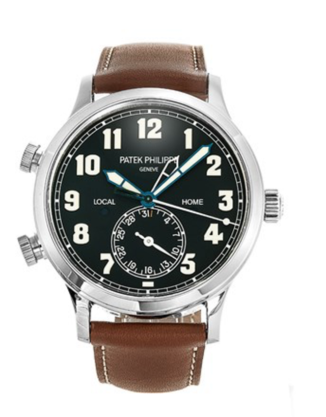 Patek Philippe Calatrava Pilot Travel Time Men's Watch