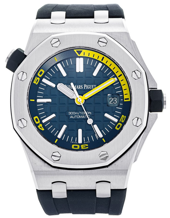 Audemars Piguet Royal Oak Offshore Stainless Steel Blue Automatic