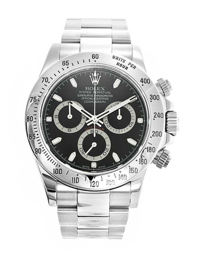 Rolex Daytona Black Dial Men's Watch