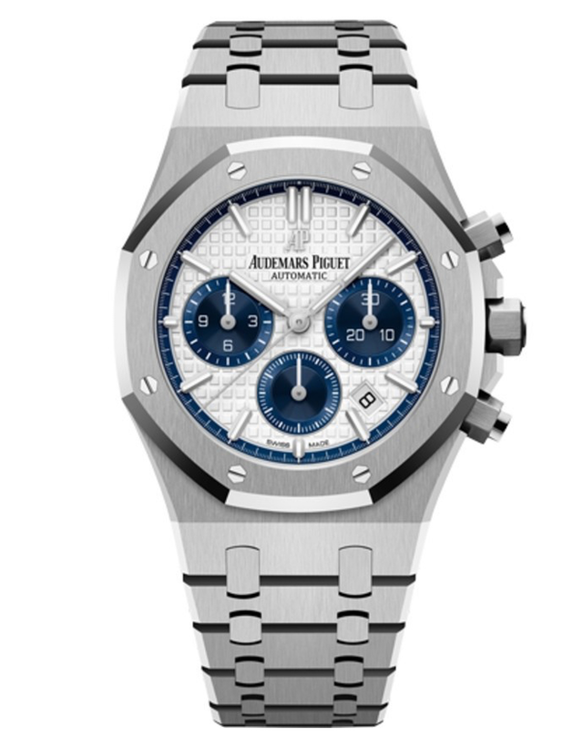 Audemars Piguet Royal Oak Chronograph Automatic Silver Dial Men's Watch