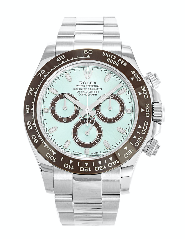Rolex Daytona Ice Blue Dial Men's Watch