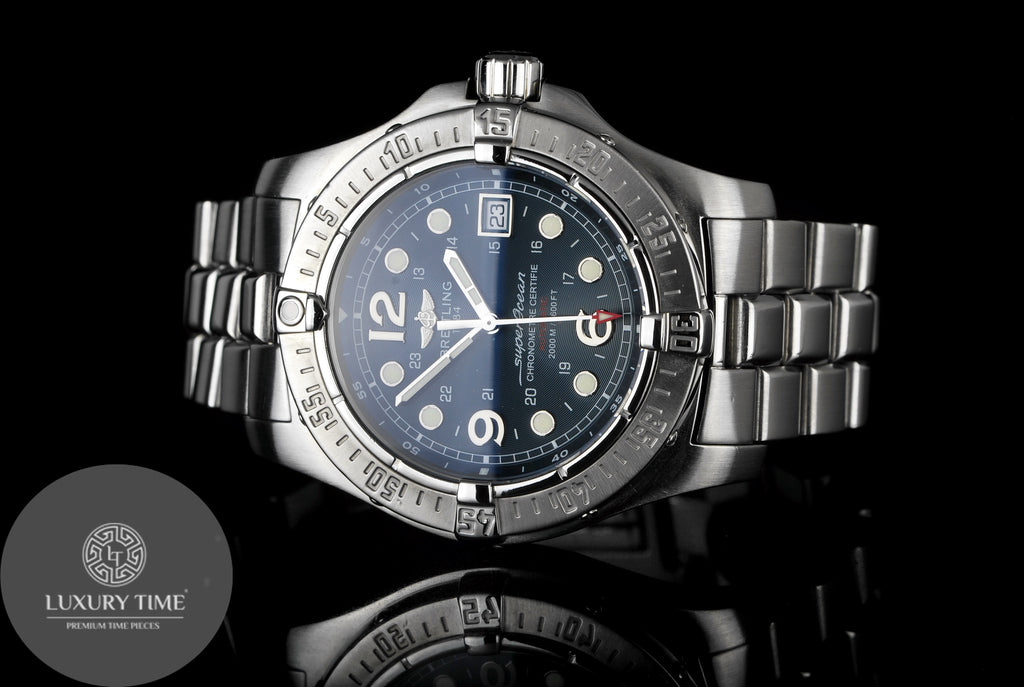 Breitling SuperOcean Steelfish Mens Watch