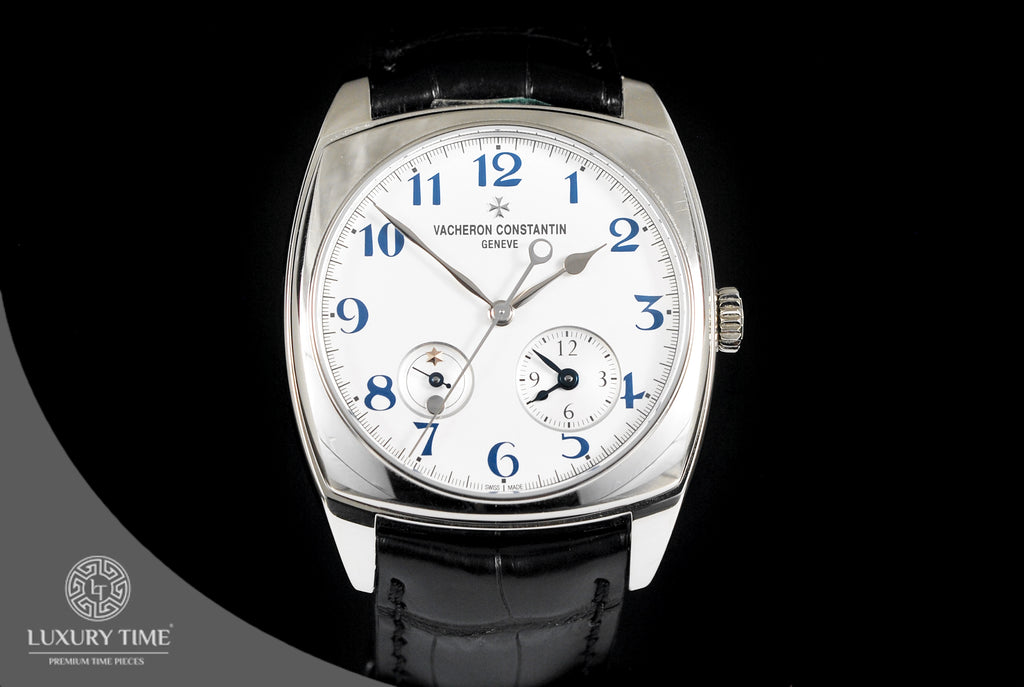 Vacheron Constantin Harmony Dual Time Automatic 40mm Men's Watch