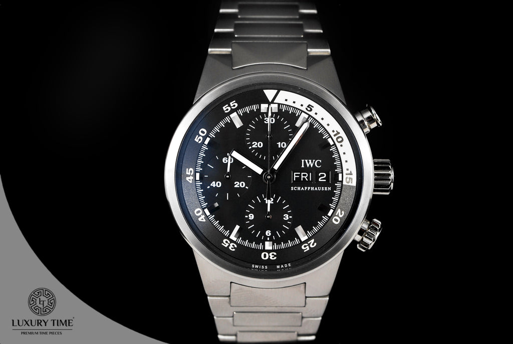 IWC Aquatimer Black Dial Chronograph Day/Date Automatic Men's Watch