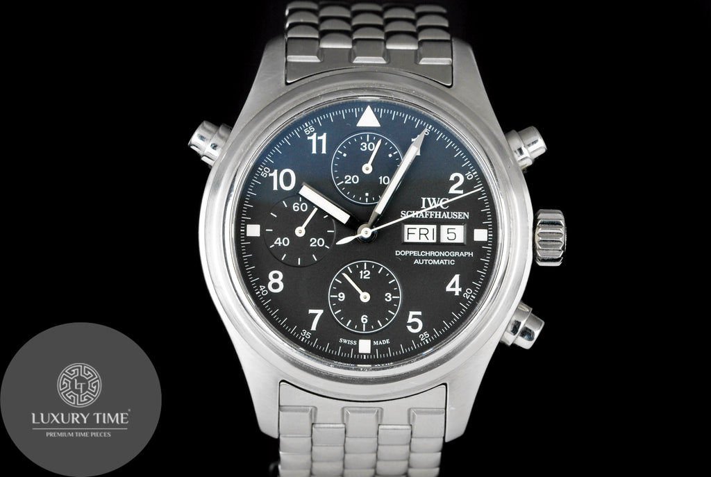 IWC Pilots Double Chrono Men's Watch
