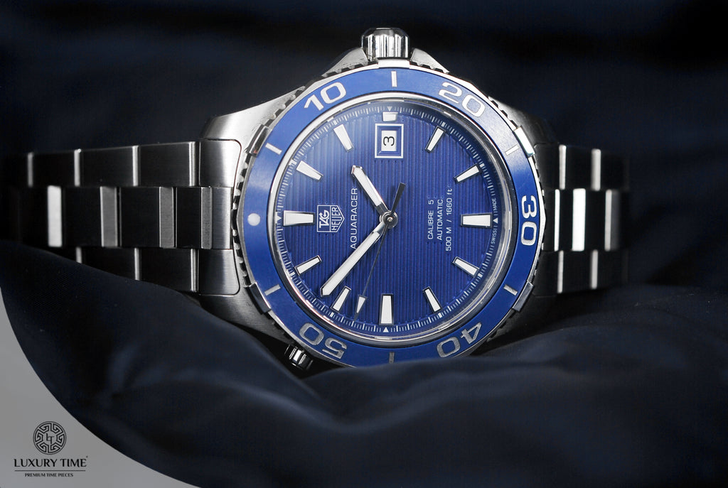 Tag Heuer Aquaracer Blue Dial Automatic Men's Watch