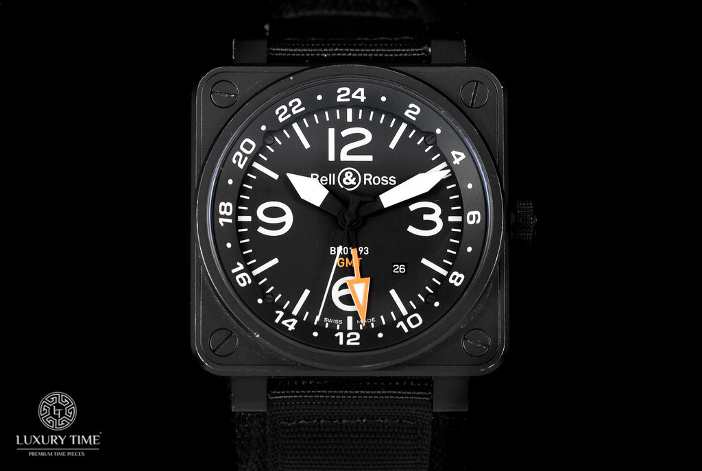 Bell & Ross BR01-93 GMT 46mm Mens Watch
