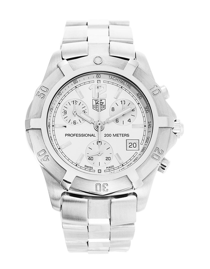 Tag Heuer 2000 Exclusive Quartz Chronograph Mens Watch