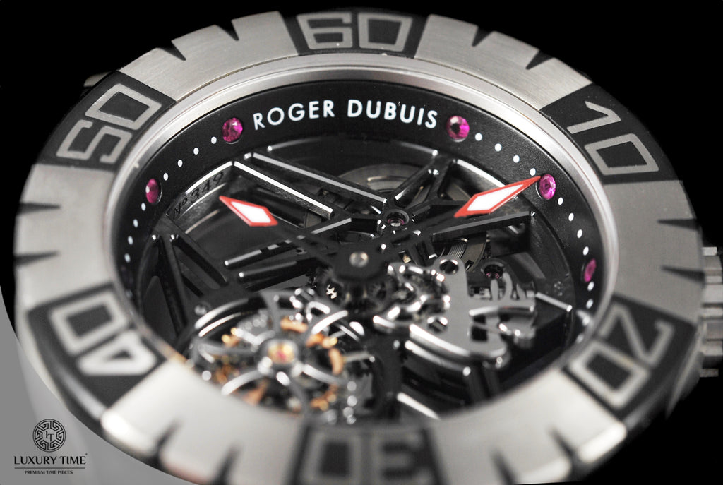 Roger Dubuis Easy Diver Skeleton Flying Tourbillon Mens Watch