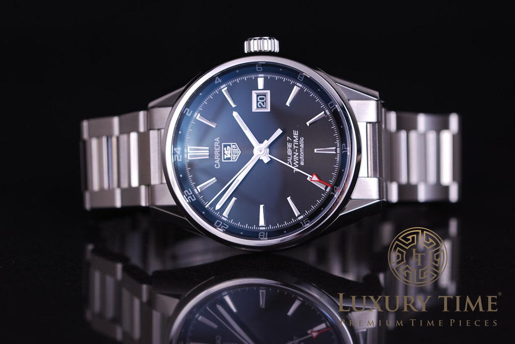 Tag Heuer Carrera Calibre 7 Twin Time Automatic Men's Watch
