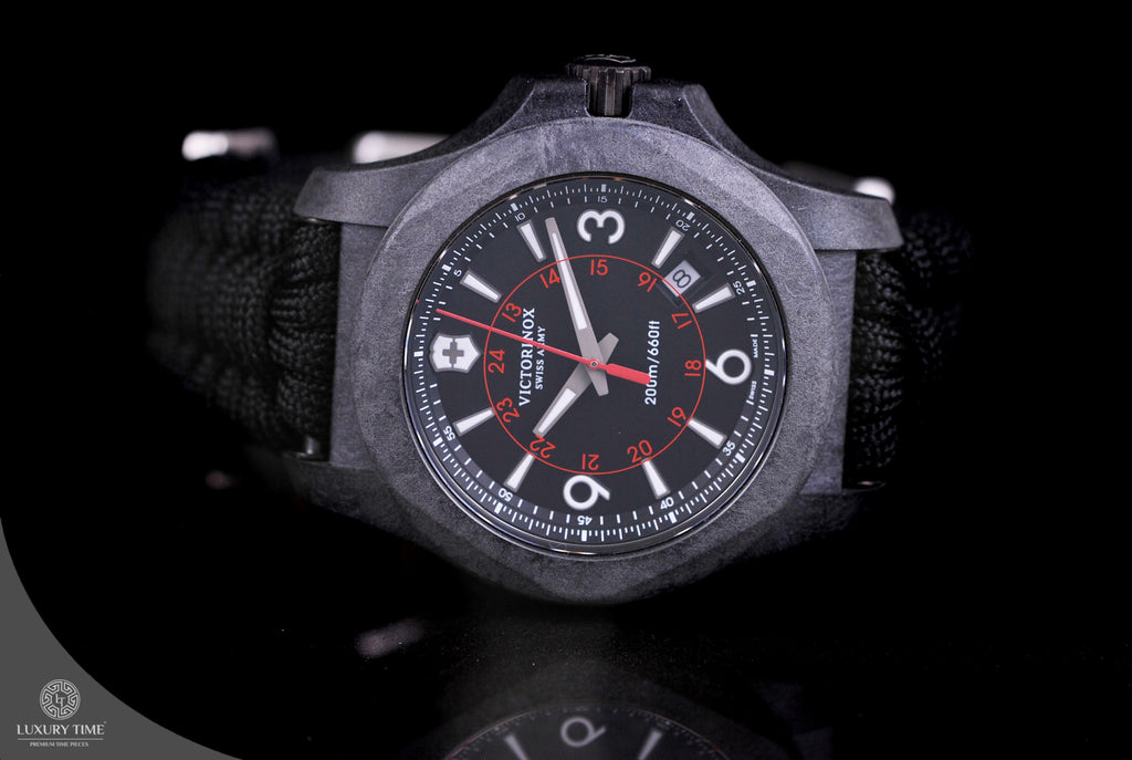 Victorinox Swiss Army INOX Carbon Black Watch