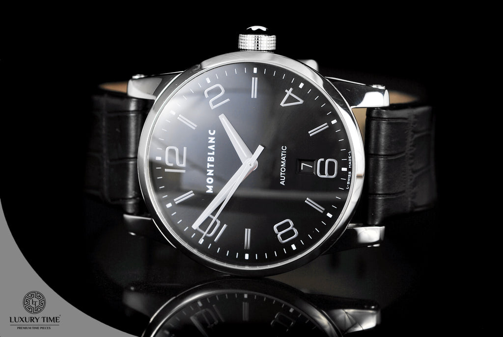 Montblanc Timewalker Black Dial Automatic Men's Watch