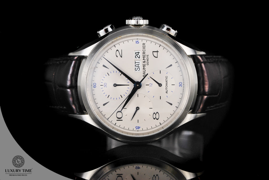 Baume & Mercier Clifton Chronograph Day Date Mens Watch