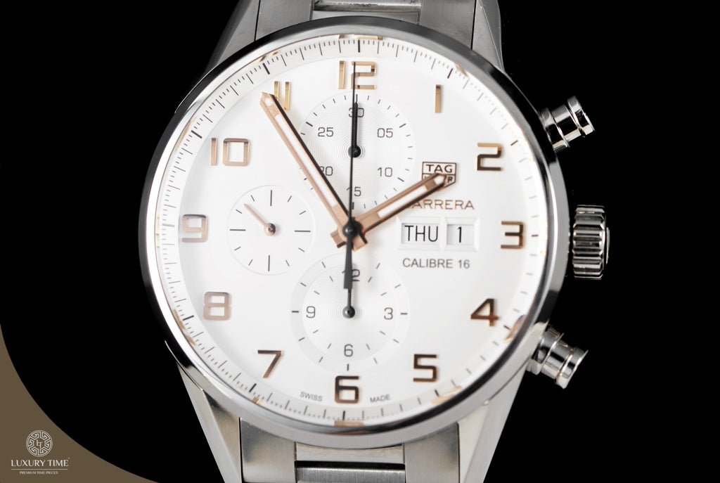 Tag Heuer Carrera Calibre 16 Automatic Chronograph 43mm Mens Watch