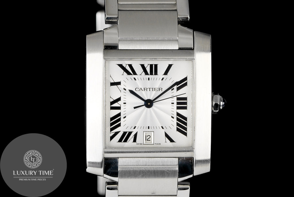 Cartier Tank Francaise Steel Men's Watch