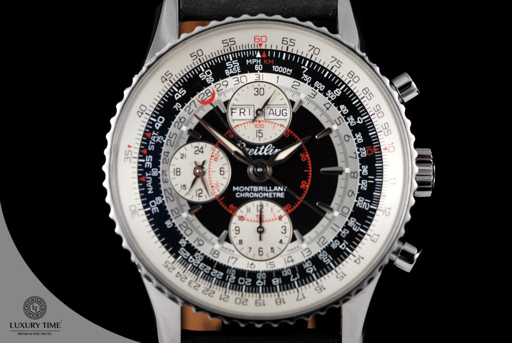 Breitling Montbrillant Datora Chronograph Men's Watch