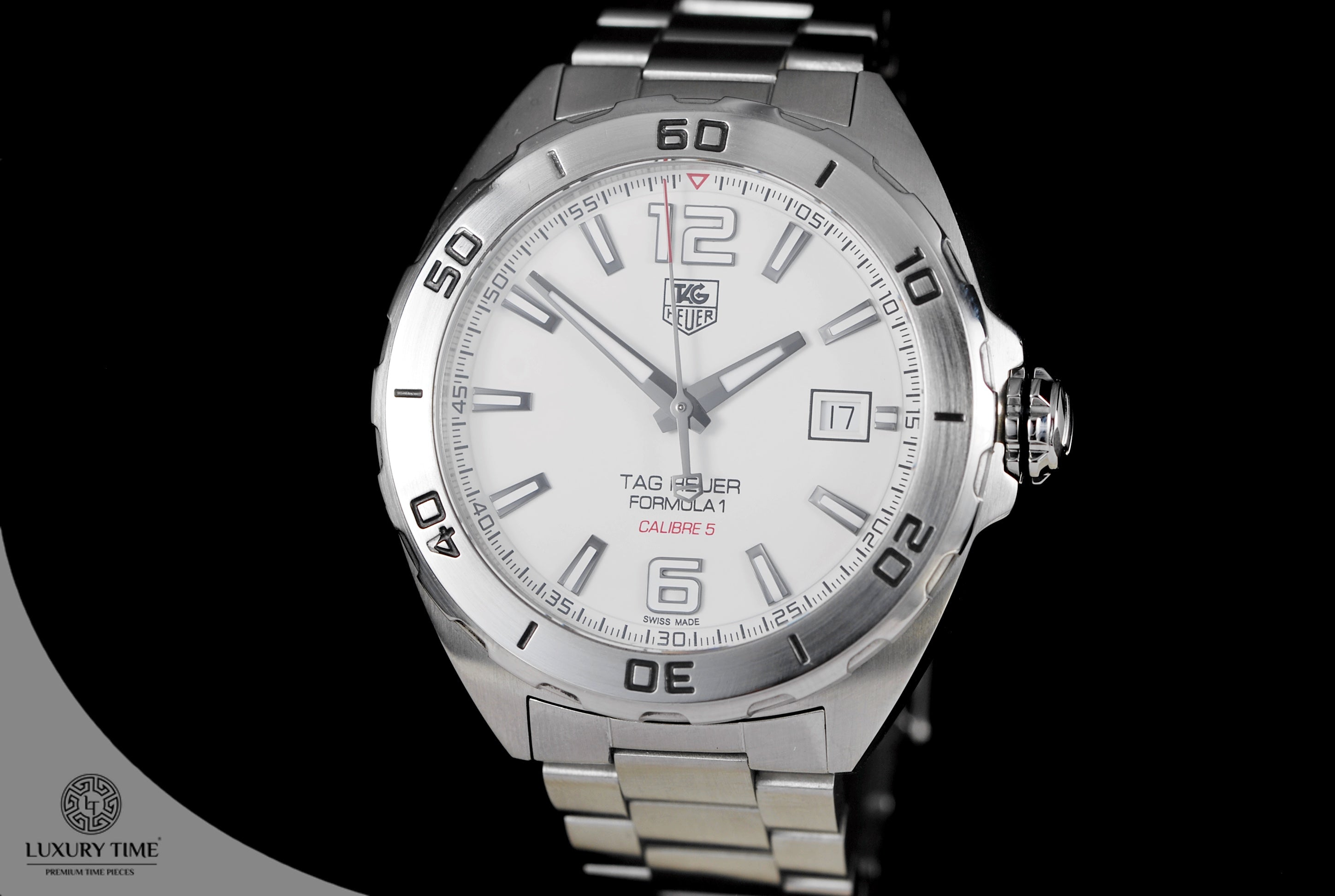 41f5c11e5aa Tag Heuer Formula 1 Automatic White Dial Men s Watch - WatchtimeSA