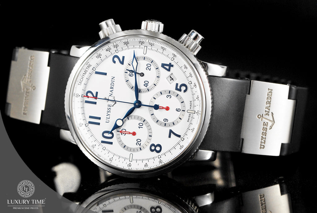Ulysse Nardin Marine Chronograph 40mm Mens Watch