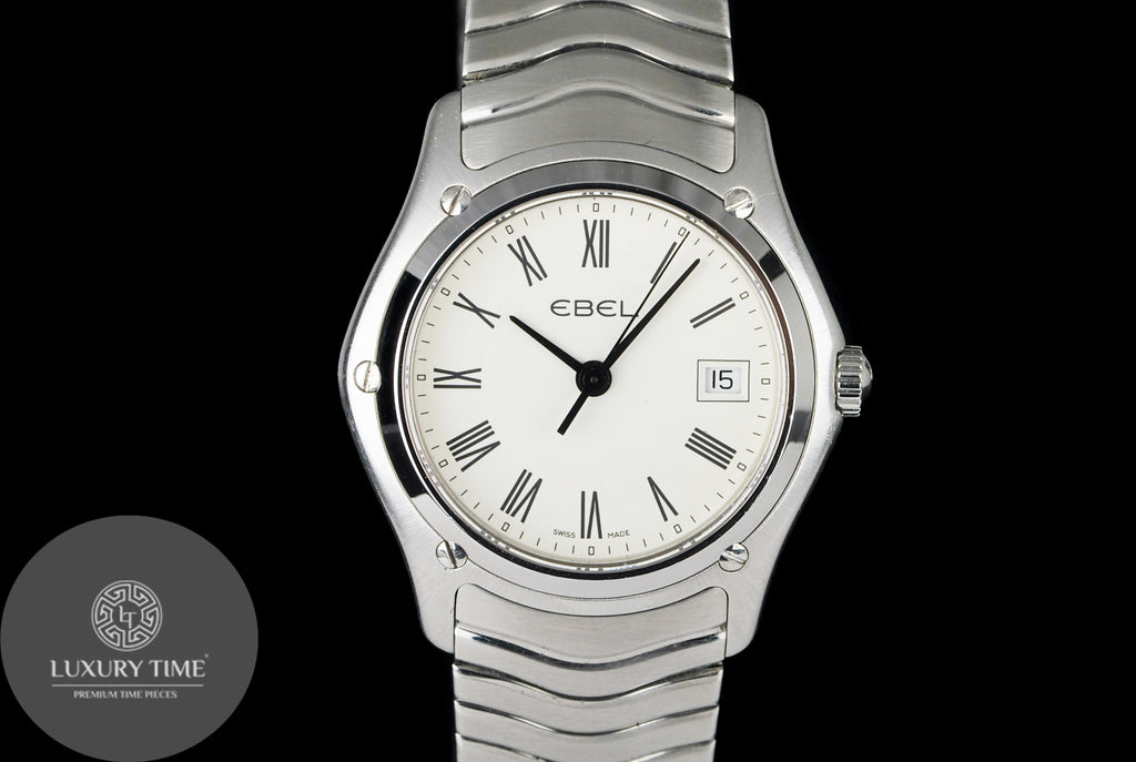 Ebel Classic Silver Dial Stainless Steel Ladies Watch